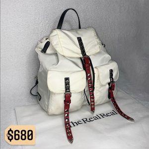 ✨✨✨✨SOLD✨✨✨✨Prada 2018 RARE Studded Nylon Backpack